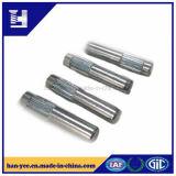 亜鉛によってめっきされる刻み目および小さな溝の固体スタッドの合せ釘Pin