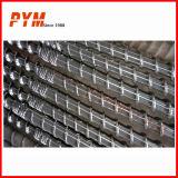 Tornillo y barril gemelos cónicos para el PVC