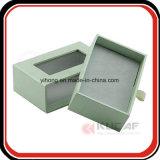 Cadre de empaquetage glissé par papier de spécialité de plateau de velours avec le guichet
