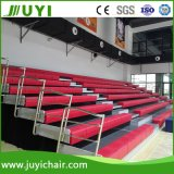 Jy-750 China Supplier Retractable Atacado Plastic Portable Bleacher System Bench Bleacher