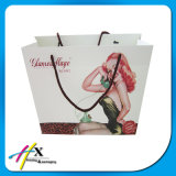 Recyclé Impression personnalisée Sac de papier cadeau