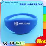 Wristband elegante ajustable clásico de encargo de la impresión MIFARE EV1 1K RFID