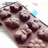 Insipide, Non-Toxic, résistant à la poussière de moules en silicone de papillons Cupcake