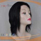 Cheveux vierges brésilien directement aux femmes la pleine perruque Poly (PPG-L-01255)