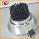 Las lámparas LED 5W/7W/9W AC85-265V COB Downlight LED con 3 años de garantía por LED ilumina el LED de luces de deporte