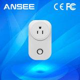 Estados Unidos RF inteligente estándar (915MHz) la toma de alimentación remota para el sistema de domótica