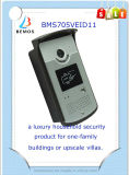 Telefone de porta de vídeo com fio confiável com controle remoto automático