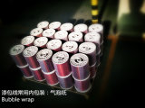 Collegare di alluminio rosso di bobina