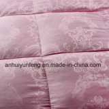 White / Gray Goose Feather Comforter Insert for Hotel