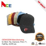 Chapéus de basebol do bordado da manufatura/boné de beisebol preto/boné de beisebol branco
