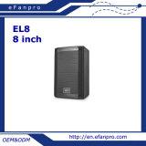 Sistema de colunas de som de 8 polegadas com boa voz (EL8 - TACT)