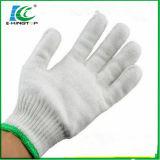 Indicador de 7/10 de hilados de algodón, guantes industriales Guante tejido