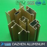Kundenspezifisches Aluminiumprofil für Fenster-Tür-Afrika-Markt-Asien-Länder