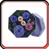 Коробка изготовленный на заказ подарка цветка бумаги картона твердого упаковывая