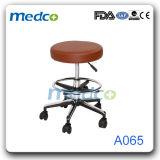 Krankenhaus-Edelstahl vier Sitzöffentlichkeits-Warteprüftisch-Stühle