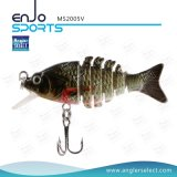 Multi-Jointed Hard Fishing Lures Traiteur de pêche à l'eau douce et à l'eau douce (MS2005V)