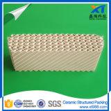 De ceramische Gestructureerde Verpakking van de Toren van de Verpakking Chemische