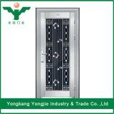 Diverso tipo diseño de la puerta del acero inoxidable de la entrada principal para el apartamento