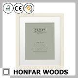 Frame de madeira da foto do retrato do preto da decoração do estúdio da foto com montagem