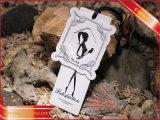 Изготовленный на заказ бирка Hang для одежды верхнего сегмента (PP-HT-61)