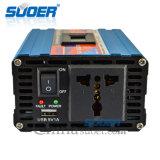 Inversor de la energía solar de Suoer 12V 220V 600W con la conexión anti de la reserva de la entrada de información (SAA-D600AF)