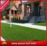 4つのカラー格子総合的な泥炭の草の人工的なカーペット