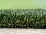 庭の装飾の泥炭のための人工的な草の芝生の美化