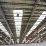 Costruzione di memoria prefabbricata chiara della struttura d'acciaio per il magazzino