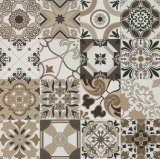 De Tegel van de Decoratie 24*24 Rustiic voor de Decoratie van de Vloer en van de Muur Geen Draaglijke Spaanse Stijl Sh6h0016/17 van de Misstap
