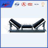 Tensor de transportador soporte intermedio de fricción la fricción de alineación automática Traing Rodillos el rodillo tensor