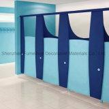 12mm HPLの家具によって禁止状態にされるカスタム洗面所のキュービクルの区分