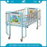 Krankenhaus-Baby-medizinisches manuelles Kind-Bett des MetallAG-CB003