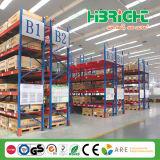 Регулируемый для тяжелого режима работы склада хранения стеллажа для поддонов