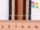 Cinghia della tessitura del cotone del tessuto della tela di canapa lavata spessore di modo 40mm