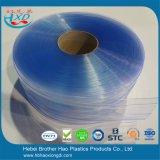 Haltbarer Kühlraum hellblauer doppelter gewellter Belüftung-Streifen-Vorhang