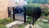 Prezzo competitivo della rete fissa rivestita del giardino della polvere di Interpon con il cancello