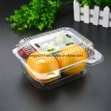 Embalagem de plástico transparente para vegetais e frutas