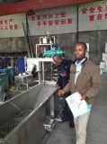 Lavado de verduras y fruta de la máquina