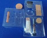 Bandeja desobstruída da bolha do animal de estimação para bandeja ajustada da embalagem da bolha do animal de estimação de Cosmestic para Cosmestic