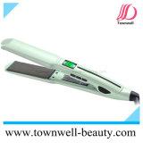 Ferro liso de venda superior do cabelo com a venda por atacado impermeável do Straightener do cabelo do indicador do LCD