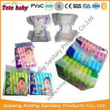 Tissu de couche de bébé de qualité supérieure comme la feuille de fond et la bande magique