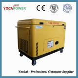 10kVA комплект генератора энергии двигателя дизеля 3 участков молчком