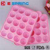 La bille 20 a formé le moulage de sucrerie de silicones de traitement au four de cuisine de Lollypop
