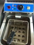 Friteuse électrique commerciale d'acier inoxydable (2 - réservoir et 2 - panier)