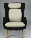 Cadeira moderna de sala de estar clássica