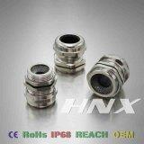 EMC van het Type van Lente van Hnx Pg de Klier van de Kabel van het Messing met Lange Draad