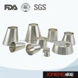 Higiénico acero inoxidable soldada reductor de tubo de montaje (JN-FT3007)