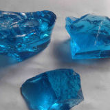 Farbiger Gabion Glasfelsen-China-Grossist
