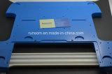 CNC-Bearbeitung Teil der kundenspezifischen Aluminium 6061 Platte mit Pulverbeschichtung