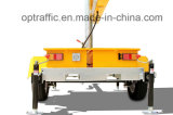 Solar Vms Trailer Message de trafic variable Portable Outdoor Full Matrix LED Moving Sign